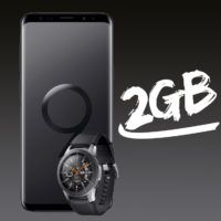 Saturn MD Allnet Flat Plus Samsung Galaxy S9 Plus Galaxy Watch Quadrat