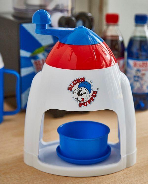 Slush Puppie  Wassereis Maschine zum Kurbeln
