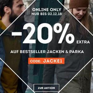 ⛄ 20% Gutschein für viele Jacken, z.B. Crosshatch Herren