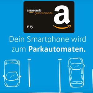 5€ Amazon.de Gutschein für die Registrierung in der WePark App