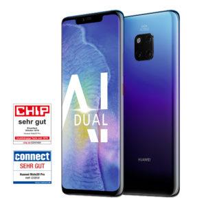 [TOP] Huawei Mate 20 Pro + Allnet mit 6GB LTE (= eff. 0,32€ mtl.)