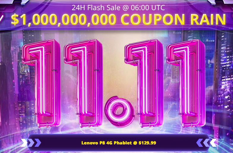 11.11 Sale 24H Flash Sale Best Singles Day Deal