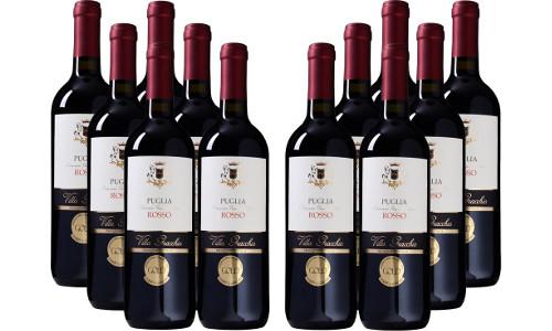 12er Paket Villa Gracchio Rosso Puglia IGT