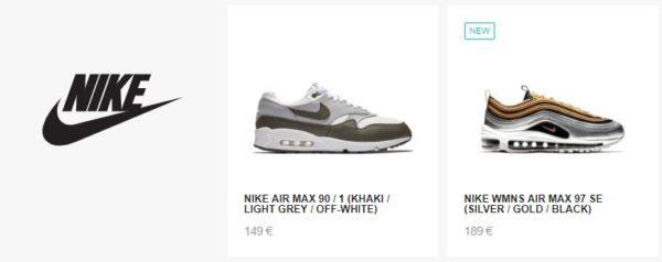 33 Prozent auf Nike Artikel