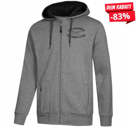 ASICS Graphic Full Zip Herren Training Kapuzen Hoodie 125087 0773