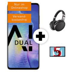 HUAWEI Mate20 Sennheiser HD 4.50 Huawei MediaPad M5 32 GB LTE 108 Comfort Allnet Aktion Saturn Black Week Titelbild