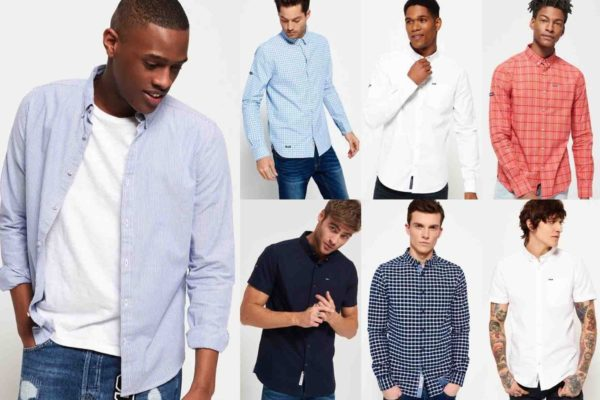 Herren Superdry Hemden Versch. Modelle und Farben 1