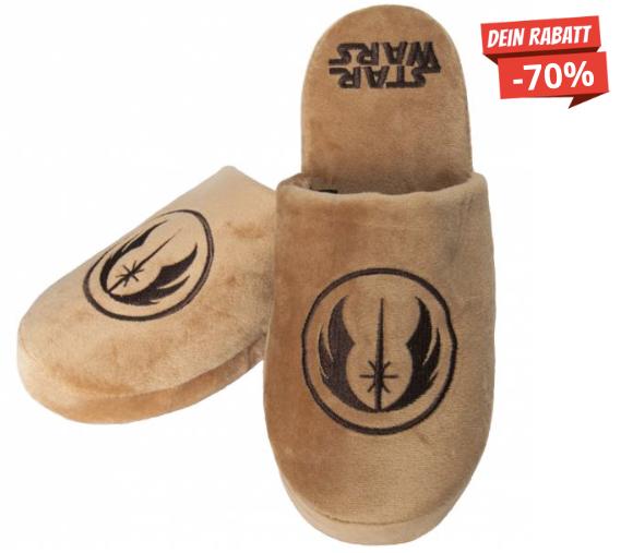 Jedi Star Wars Hausschuhe Pantoffeln SportSpar