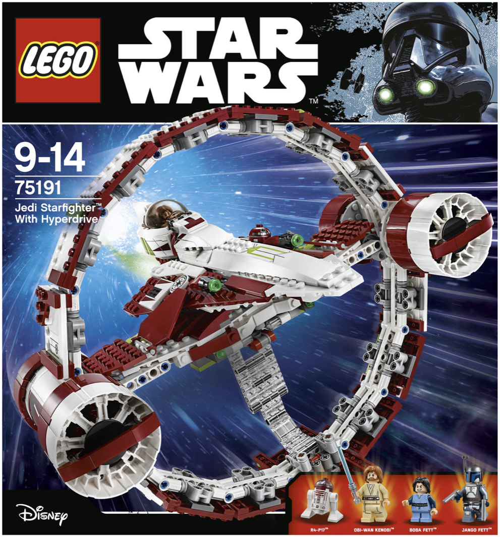 LEGO Star Wars Jedi Star Fighter 75191 Galeria Kaufhof