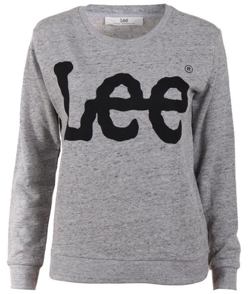 Lee Damen Sweatshirt Logo kaufen JEANS DIRECT.DE
