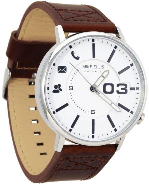 MIKE ELLIS MEC REVOLUTION Cruz Hybrid Smartwatch Leder