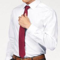 OLYMP Businesshemd Level Five body fit Formbestaendig durch Elastananteil