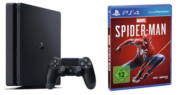 PS 4 Slim Spider man