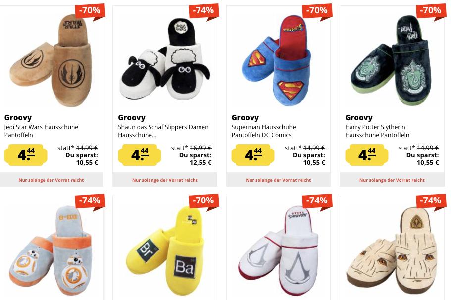 Pantoffeln X Mas Sale Aktionen SportSpar 1