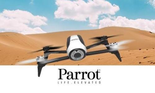 Parrot Bebop 2 Drohne weiss 2