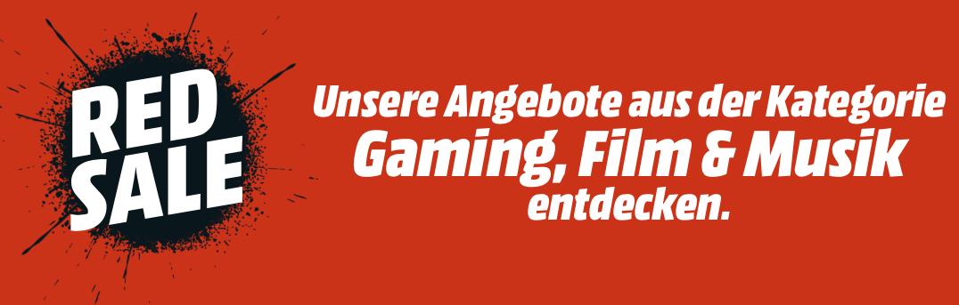Red Friday bei Gaming Film Musik Top Artikel drastisch reduziert