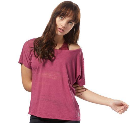 Reebok Fitness Damen Burnout Shirt