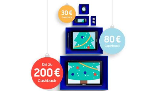 Samsung Cashback   bis zu 200 Euro