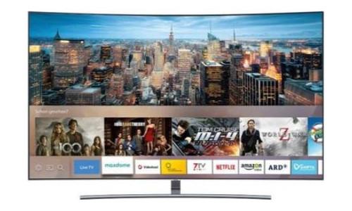 Samsung GQ65Q8CNGTXZG Curved QLED Fernseher