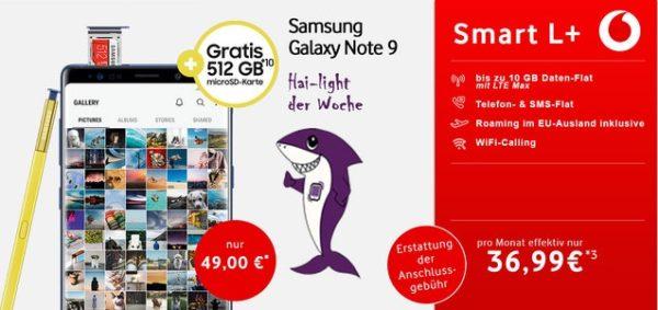 Samsung Galaxy Note9 Vodafone Smart L