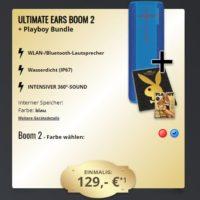 UE BOOM 2 Speaker Playboy Adventskalender Playboy Ausgabe