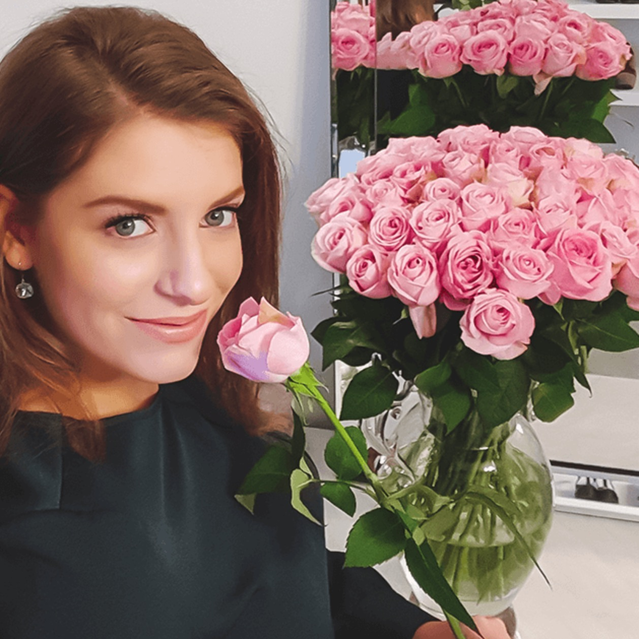 pink roses 1