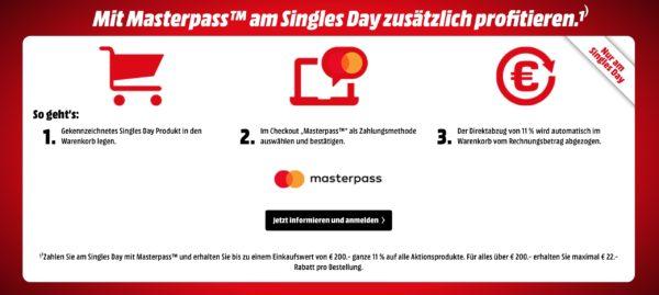 singels day media markt