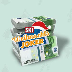 🎁 Gratis: 1 Monat SKL Weihnachts-Joker + 5€ Gutschein als Prämie