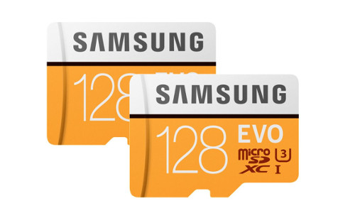 2x Samsung Evo MicroSDXC 128 GB inkl. Adaptern