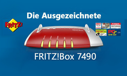 AVM FRITZBox 7490 WLAN Mesh Router