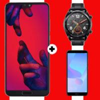 HUAWEI P20 Pro Dual SIM Huawei Watch GT Flat Y6 Allnet Plus Aktion Titelbild Kopie