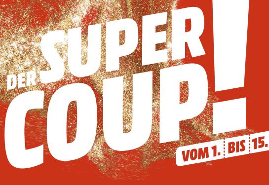 Jetzt Coupon sichern Die MediaMarkt Super Coup Aktion 1