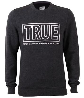 Mustang Herren Sweater Logo Sweatshirt kaufen JEANS DIRECT.DE