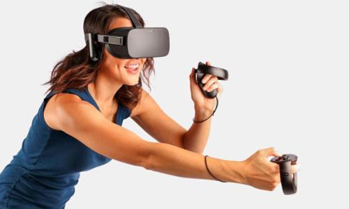 Oculus Rift Bundle VR Brille inkl. Oculus Touch Controller