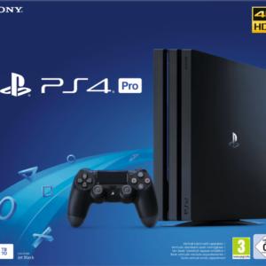 Bestpreis: 🎮 Sony PS4 Pro mit 1TB für 297€ (PS4 Slim für 197€)