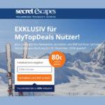 Secret Escapes: 80€ Rabatt auf Luxus-Urlaube (bis zu 60% reduziert)