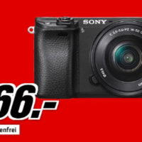 Sony Alpha 6300 Systemkamera mit 16 50mm Objektiv