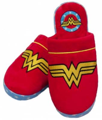 Wonder Women Retro DC Comics Hausschuhe Pantoffeln SportSpar