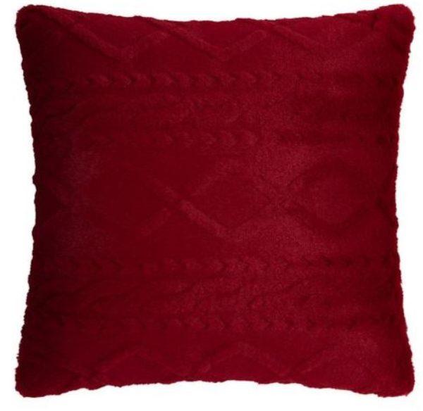 Zierkissen Anna in Rot ca. 45x45cm
