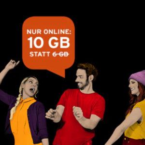 D1: Allnet-Flat mit 10GB LTE für 25€ mtl. (ohne Laufzeit) + Sennheiser In-Ears
