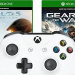 Gönn dir Dienstag mit z.B. dem Xbox One Controller + Halo 5 + Gear of War 4
