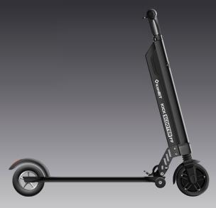 iconBIT Kick Scooter FF Elektrischer Tretroller mit Trolleyfunktion