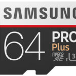 💾 Samsung Pro Plus: 64GB microSD-Karte (mit bis zu 100MB/s)