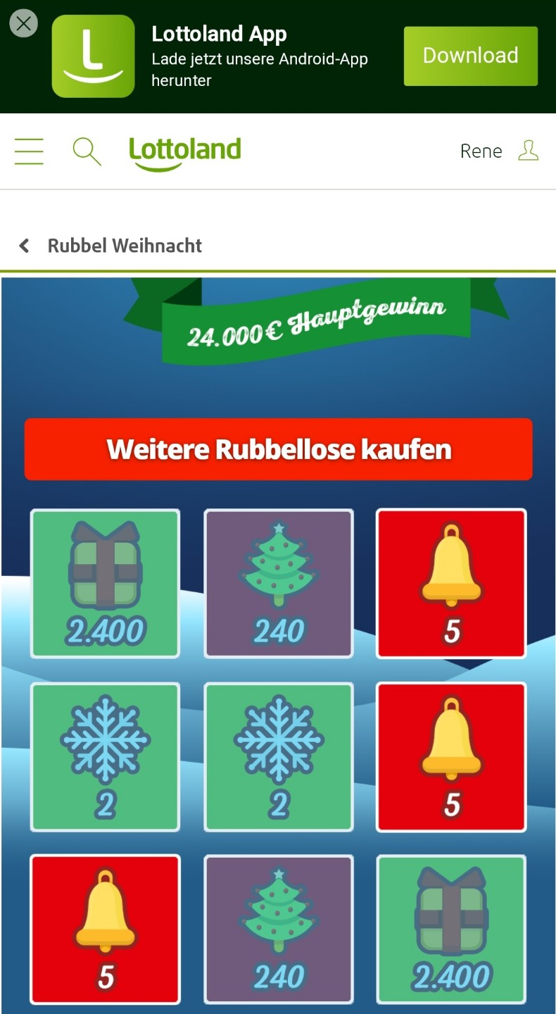 Lottoland Adventskalender