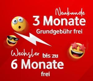 Für DSL-Kunden: Vodafone Red M mit 21GB LTE + Wechselbonus + Top Smartphones