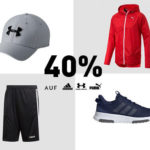 Tipp: 40% Rabatt auf Adidas, Under Armour & Puma