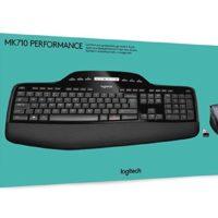 Logitech MK710 Kabelloses Tastatur Maus Set