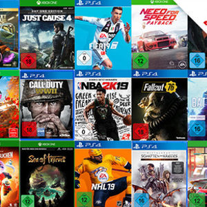 🎮 Media Markt: 3x PS4 / Xbox One / PC Games für 79€