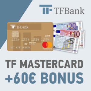 [TOP] TF Mastercard Gold mit 60€ Bonus 💰 - dauerhaft kostenlos
