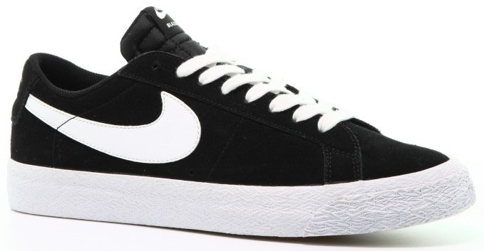 afew store sneaker nike sb zoom blazer low black white gumlight brown 368